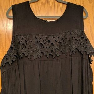 ADD-ON NY Collection Black Shift Dress